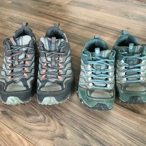 Merrell Moab Hiking Shoes Mens Size 8 (Moab FST)